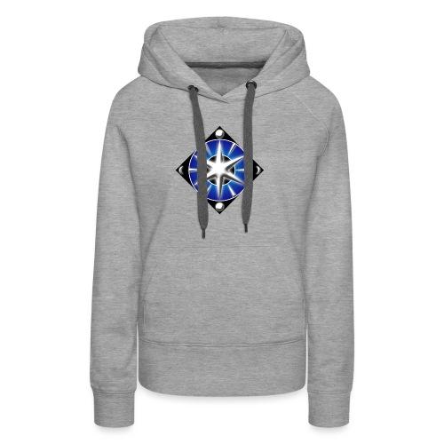 Blason elfique - Sweat-shirt à capuche Premium pour femmes