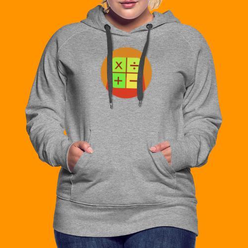 Matemáticas Sin Más - Sudadera con capucha premium para mujer