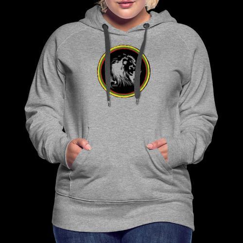LION HEAD SISSOR CUT UNDERGROUND SOUNDSYSTEM - Frauen Premium Hoodie