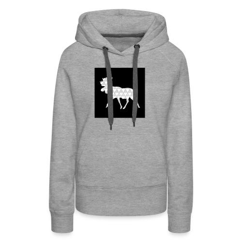 Moose Walk - Women's Premium Hoodie