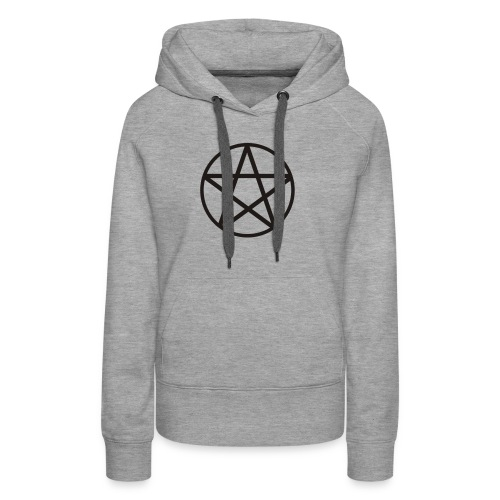 pentagram spread - Bluza damska Premium z kapturem