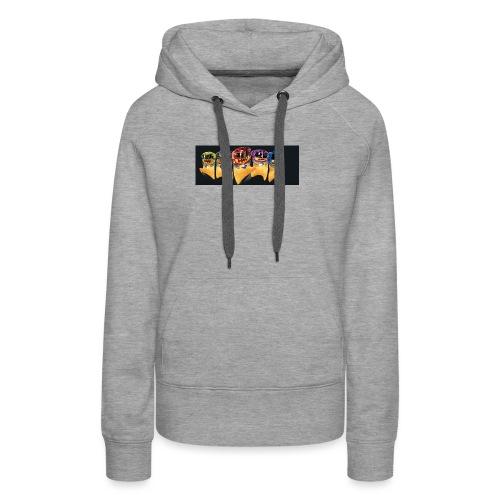 tresor chocovore - Sweat-shirt à capuche Premium pour femmes