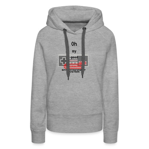 oh my good nes - Sweat-shirt à capuche Premium pour femmes