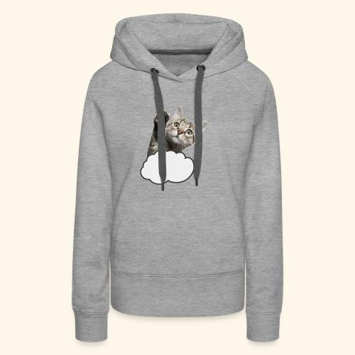 FLYING CAT - Frauen Premium Hoodie
