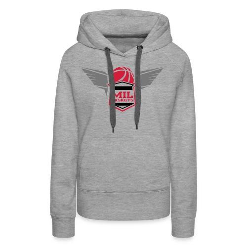 mil logo - Frauen Premium Hoodie