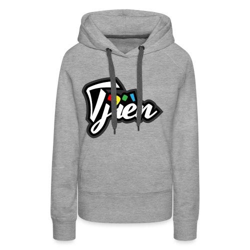 Tjien Logo Design - Vrouwen Premium hoodie