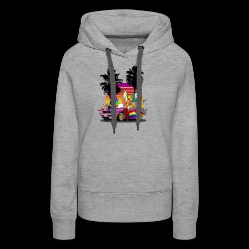 LIKORN - Sweat-shirt à capuche Premium pour femmes