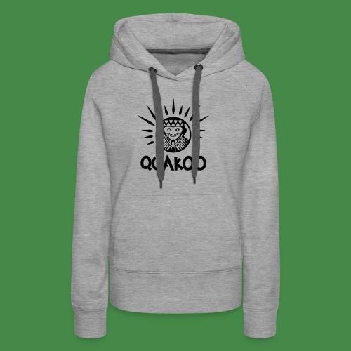 Quakoo Logo - Frauen Premium Hoodie