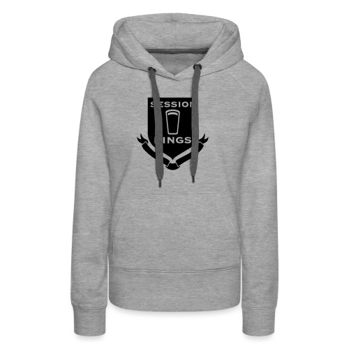 session-king-small - Women's Premium Hoodie
