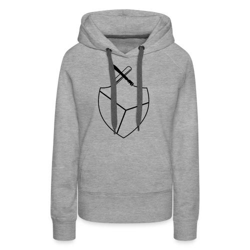 Design von Viktoria in Schwarz - Frauen Premium Hoodie
