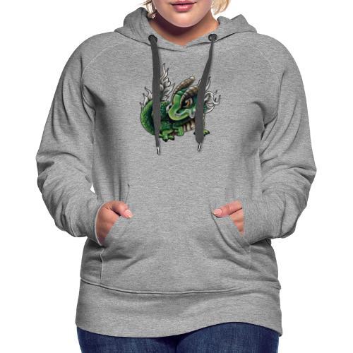 Chinesisches Drachenbaby - Frauen Premium Hoodie