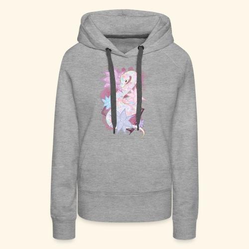 GirlySnake - Sweat-shirt à capuche Premium pour femmes