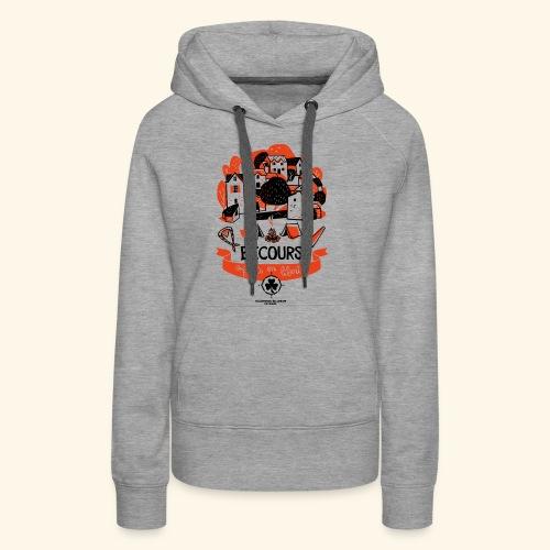 Enfants en liberté - Sweat-shirt à capuche Premium pour femmes