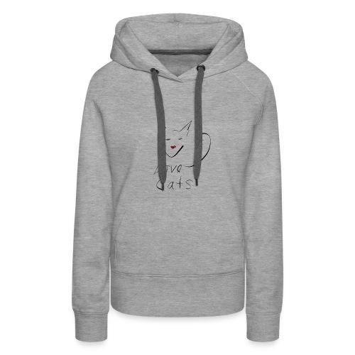 Cats love - Women's Premium Hoodie