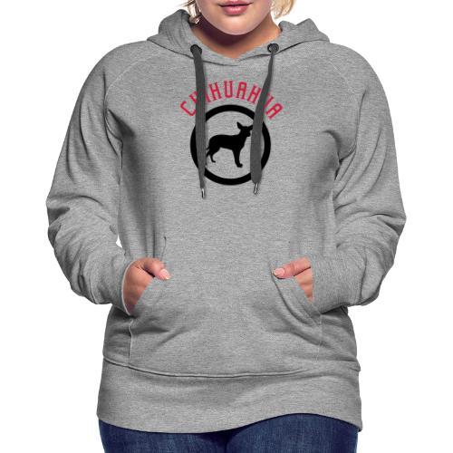 Chihuahua 2c - Frauen Premium Hoodie