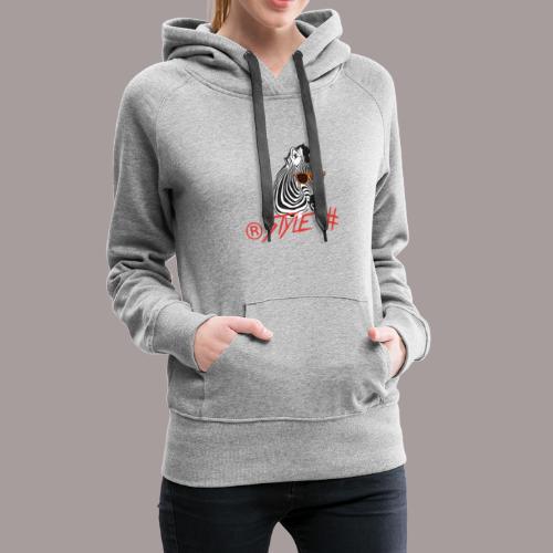 Tiere +Zebra +Zebras +Geschenk + Style + - Frauen Premium Hoodie