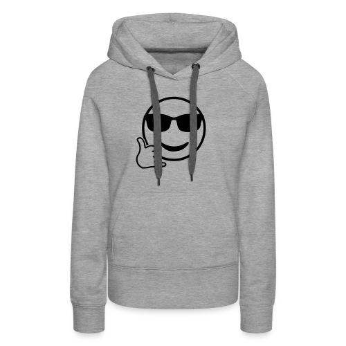 Shaka Emoji - Frauen Premium Hoodie