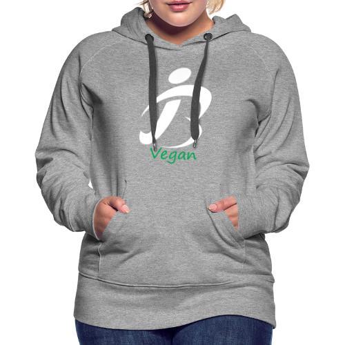 jon lebon app bvegan white - Women's Premium Hoodie