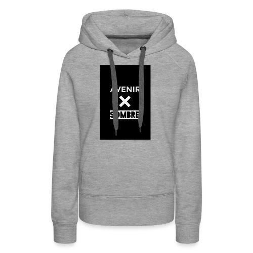 IMG_1095 - Sweat-shirt à capuche Premium pour femmes