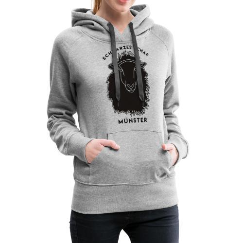 Schwarzes Schaf Logo & Schrift - Frauen Premium Hoodie