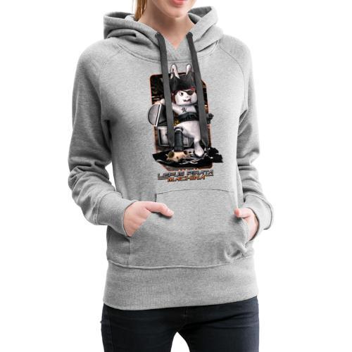 Lepus Pirata Machina - Vrouwen Premium hoodie