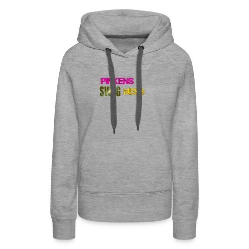 Pinkens swagness - Dame Premium hættetrøje