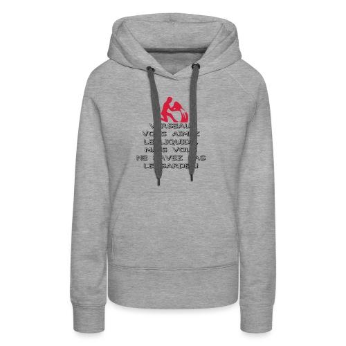 ASTRO VERSEAU - Sweat-shirt à capuche Premium pour femmes