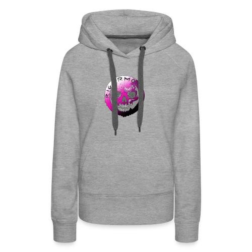 Rigormortiz Purple Design - Women's Premium Hoodie