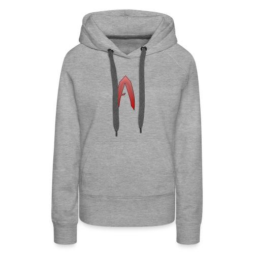 AJ LOGO T Shirt - Women's Premium Hoodie