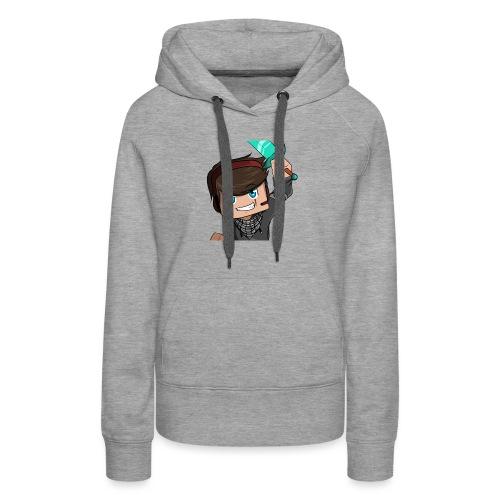 Avatar Minecraft Xtr3mZMiniboy - Sweat-shirt à capuche Premium pour femmes