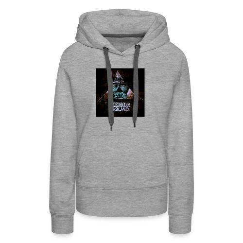 LOGO DE LA EXIODA SQUAD - Sweat-shirt à capuche Premium pour femmes