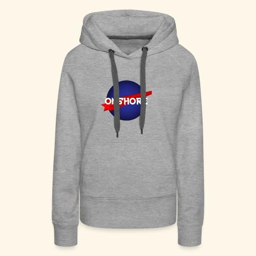 ONSHORE - Sweat-shirt à capuche Premium pour femmes