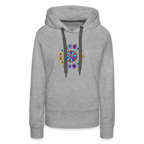 Flowervpower mandala - Vrouwen Premium hoodie