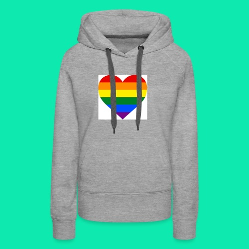Pride- Heart - Women's Premium Hoodie