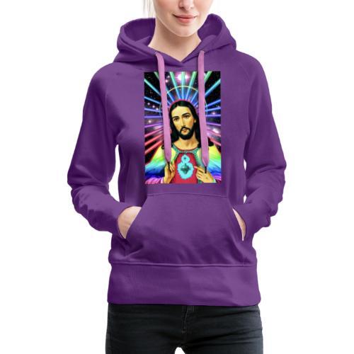 Neon Jesus - Women's Premium Hoodie