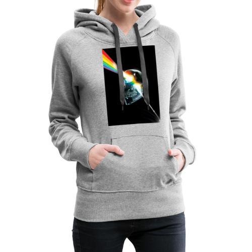 tete de mort gay - Sweat-shirt à capuche Premium pour femmes