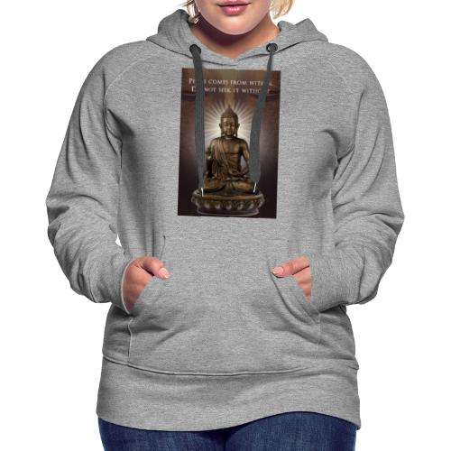 Peace from Within - Women's Premium Hoodie