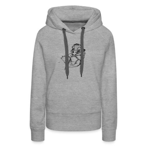 Loutre - Sweat-shirt à capuche Premium pour femmes