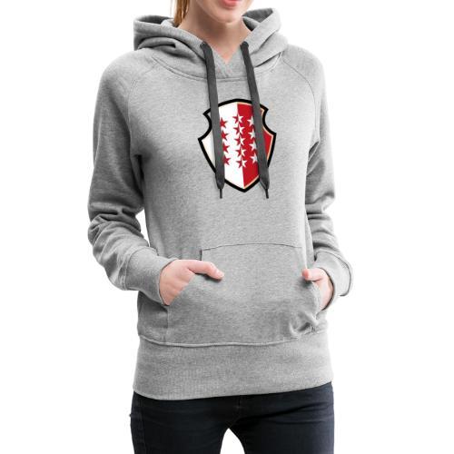 Bouclier Valaisan - Frauen Premium Hoodie