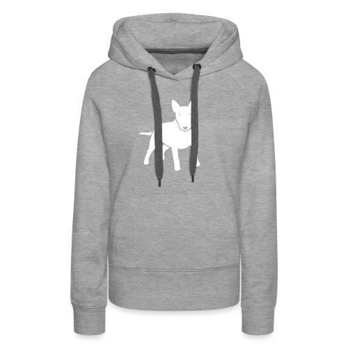 hunde_dogz_minibull_v2 - Frauen Premium Hoodie