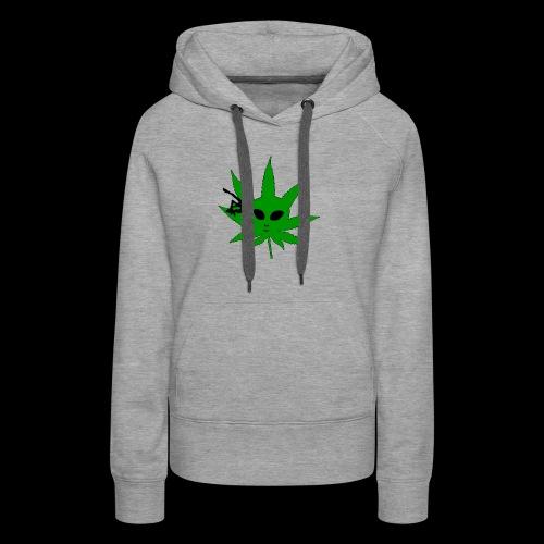 Alien Weed - Women's Premium Hoodie