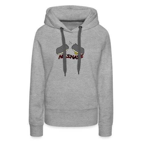 NB.SKATE - Sudadera con capucha premium para mujer