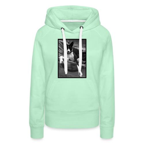 whatever - Sweat-shirt à capuche Premium pour femmes