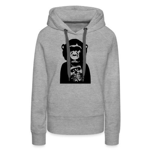 Skull/Totenkopf by Pop Chimps - Frauen Premium Hoodie
