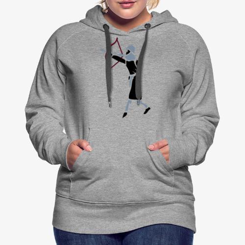 Archer Medieval Icon patjila design - Women's Premium Hoodie
