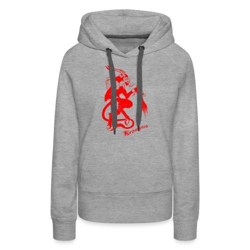 krampus - Sweat-shirt à capuche Premium pour femmes
