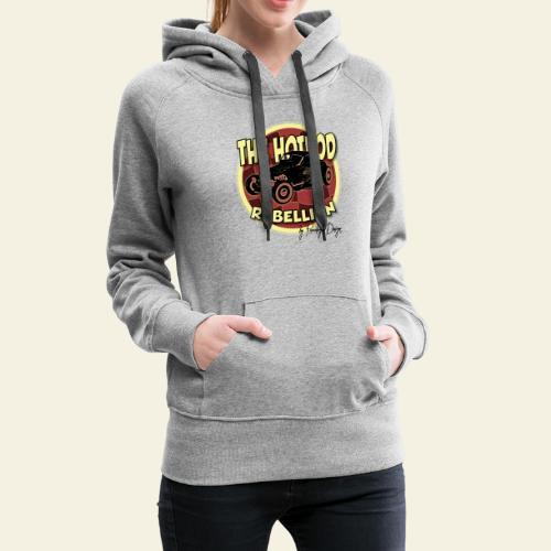 hotrod rebellion - Dame Premium hættetrøje