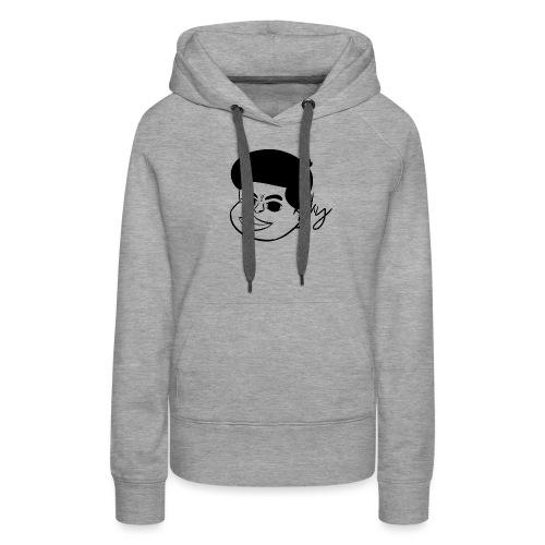Afro Boy - Frauen Premium Hoodie