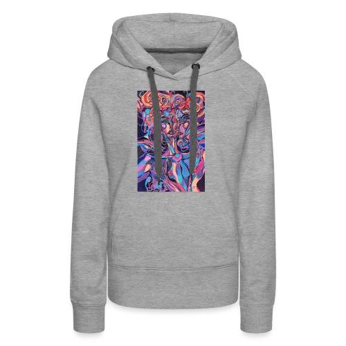 Evil Art Abstract - Women's Premium Hoodie