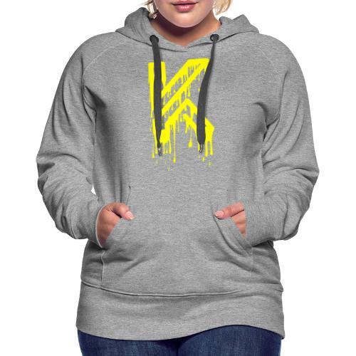 Dripping - Sweat-shirt à capuche Premium pour femmes